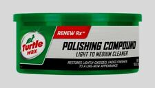 Turtle Wax POLISHING COMPOUND & Scratch Remover Paste Restores Car 10.5 oz T241A
