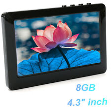 4.3'' TOUCH SCREEN 8GB MP3 MP4 MP5 Player Digital Video FM Play Radio +TV OUT