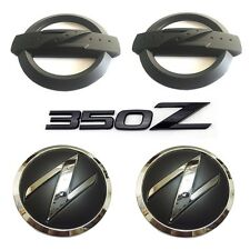 350Z Badge Kits Car Body Front Rear Emblem Stickers for 350Z Fairlady Z33