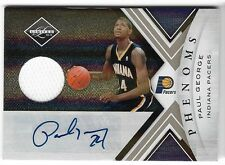 PAUL GEORGE 2010 LIMITED ROOKIE AUTO AUTOGRAPH JERSEY RC CARD #80/249!