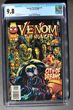 VENOM The HUNGER #1 Dr Paine 1996 Early Limited Series Addict MOVIE CGC NMMT 9.8
