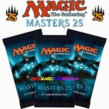 MTG 3 X MASTERS 25 BOOSTER SEALED - ENGLISH Magic The Gathering - Pack 15 Cards