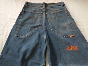 GAT jeans sz 32 old school skater rave phat jnco kikwear macgear 90s rare
