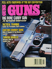 Magazine *GUNS* June, 1996 !! MARLIN Model MR-7 RIFLE !! **ADP Mk 2 9mm PISTOL**