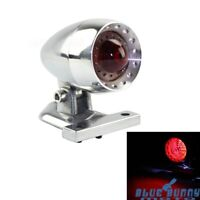 Custom Motorcycle Retro Vintage LED Taillight License Plate Lamp For Cafe Racer