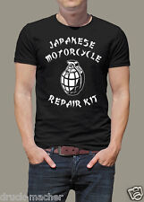 T-Shirt Japanese Motorcycle Repair Kit - BMW Ducati, Guzzi KTM, Harley, Triumph