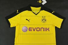2015-2016 Puma BVB Borussia Dortmund 09 Home Shirt SIZE M (adults)
