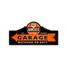 Hancock Gasoline Rooster Metal Sign Man Cave Garage Body Shop Barn Shed Pts466