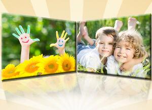 2x Ihr Foto, Bild, Druck auf echter Leinwand 60x40 cm oder 40x60 cm