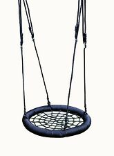 Kids Rope Outdoor Birds Crows Nest Spider Web Swing Seat 65cm by HIKS