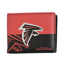 Brand New NFL Atlanta Falcons Men Women Synthetic Leather Bi-Fold Wallet