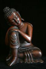 Resting Buddha statue 8 inch Resin