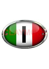 Italy Italian car motorcycle sticker Classic Bike Vehicle registration code