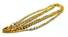 Kaedesigns 9ct Yellow Gold Belcher Chain Necklace 70cm 3.9grams