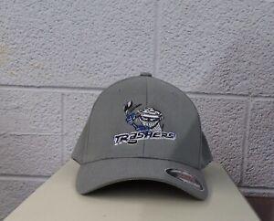 Flexfit UHL Hockey Danbury Trashers Embroidered Hat Ball Cap New