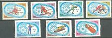 Afghanistan:Winter Olympics,1984,Sc. 1053-9, MNH