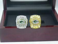2pcs 2010 2010 Green Bay Packers world Championship rings !
