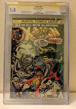 X-MEN #94 SIGNED BY STAN LEE Len Wein Chris Claremont ALL NEW TEAM SS CGC 1.8