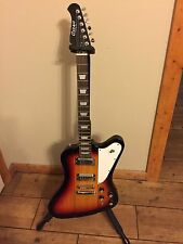Cozart Firebird Guitar With Gibson Gig Bag