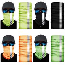 4 Pack Reflective Face Mask Balaclava Bandana Ski Hood Sun Shield Protection