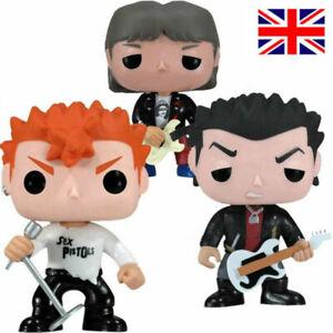 Sex Pistols Steve Jones #32 Johnny Rotten Sid Vicious Model Figures Toy Gifts UK