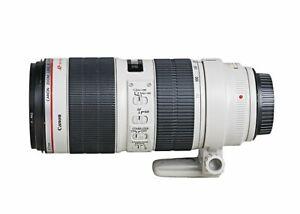 Canon Zoom Lens EF 70-200mm f2.8 L IS USM lens - Used