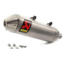 Akrapovic Muffler Slip-On KTM 250 Exc-F , 250 Sx-F , 250 Xc-F , 350 Exc-F