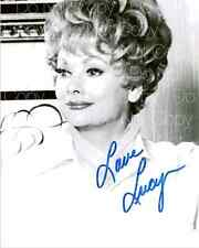 I Love Lucy signed Lucille Ball 8X10 photo picture poster autograph RP
