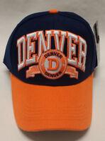 Denver Broncos Team Color  3D Embroidered Hat/Cap - EXCEPTIONAL QUALITY!!