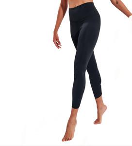 Nike Yoga Women's Ruched 7/8 Leggings Black High Rise Dri Fit RRP £55 XS S M L