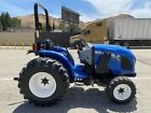 NEW HOLLAND WORKMASTER 33 4X4 2016 ONLY 740 HOURS SINCE NEW, PTO, CALIF TRACTOR
