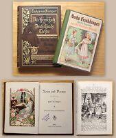 Gumpert Rosen und Dornen Erzählung 1894 + Beigabe Chr.v. Schmid 6 Erzählungen xz