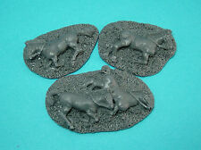 28mm Ancient Greek horse casualties unpainted.