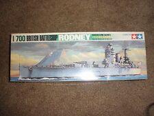 1:700 Tamiya British Battleship Rodney Water Line Series