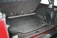 2007 - 2010 Jeep Wrangler Unlimited Black Cargo Mat