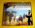 """CD """" SCHÜRZENJÄGER - TREFF MA' UNS IN DER MITT'N """" 14 LIEDER (WILDER ENGEL)"""