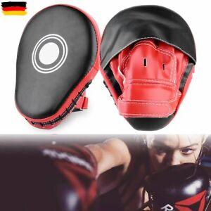 2x Handpratzen Pratzen Boxen Schlagpolster Boxtraining Pratzen Focus Kick TQ