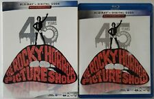 THE ROCKY HORROR PICTURE SHOW 45TH ANNIVERSARY EDITION BLU RAY + SLIPCOVER SLEEV