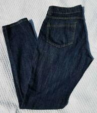 Miley Cyrus Juniors Size 11 Max Azria Skinny Ankle Blue Jeans Dark Wash