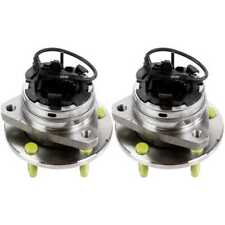 2 Front Wheel Hub Bearings For 04-12 Cobalt Malibu HHR G6 Aura 5 Lug Stud W/ ABS