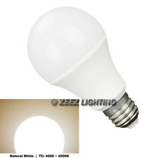 12W Natural Bright White LED Light Bulbs A-Shaped A19 EQ. 100W Incandescent Lamp