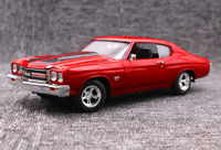 1:/18 Muscle 1970 Chevy Chevelle SS 454 Diecast Alloy collection Car Model+GIFT