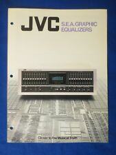 JVC SEA-80 SEA-70 SEA-60 SEA-40 EQ Sales Brochure  Catalog Original Real Thing