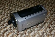 Sony HDR-CX100 8 GB Camcorder - Silver - Working!