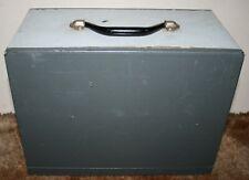 Prinz Magnon 8mm Cine Film Projector - Cary Case / Wooden Storage Box