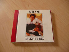 CD Wham! - Make it big - 1984 incl. Wake me up before you go go + Careless whisp