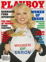 Playboy August 2002 | Women of Enron Christina Santiago Tenison Twins