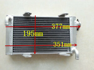"""FULL Aluminum Radiator Go Kart Go-kart Karting 14"""" X 8"""" X 1.3"""" 32MM"""