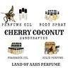 CHERRY COCONUT Perfume / Body Spray / Fragrance Oil / Tart Tropical Sweet Scent
