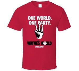 Waynes World Parody Fan Poster Funny Movie Fan T Shirt